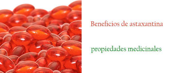 Astaxantina beneficios y propiedades