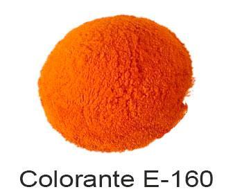 Beta caroteno colorante E-160