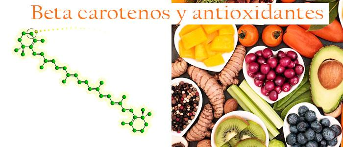 Betacarotenos y antioxidantes