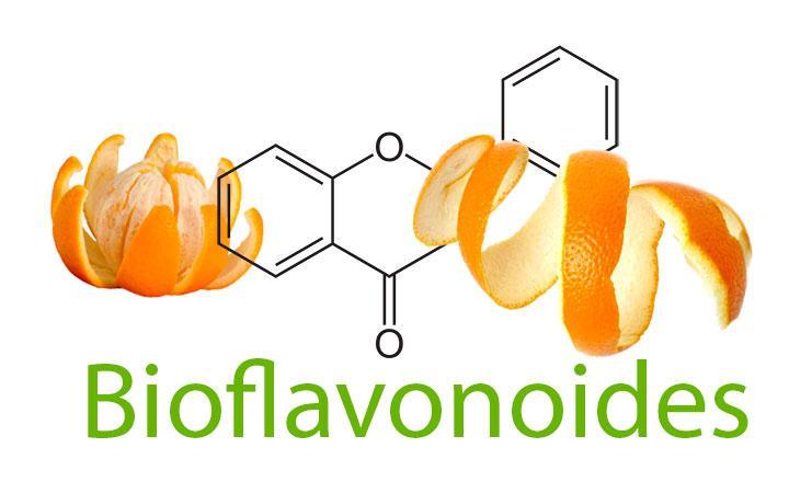 Bioflavonoides y vitamina C, que son, beneficios