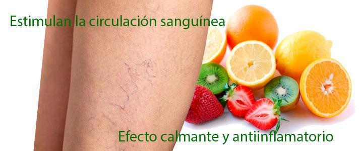 bioflavonoides para las varices