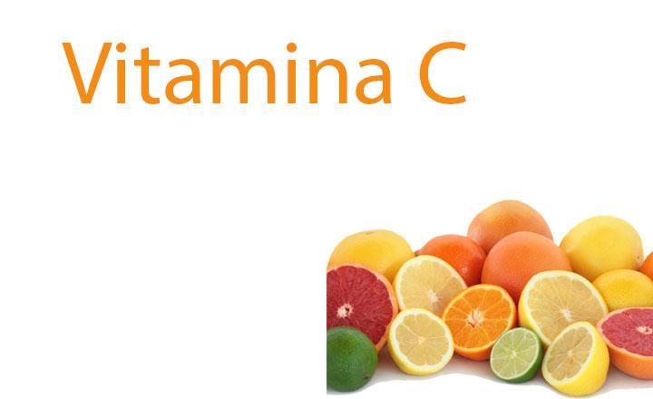 Bioflavonoides y vitamina C