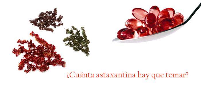 Cómo tomar astaxantina