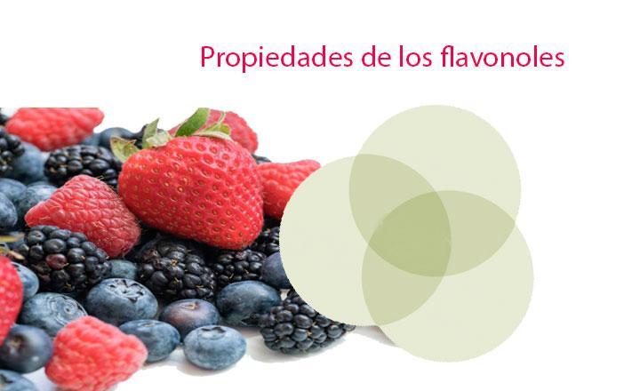 Propiedades de los flavonoles