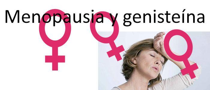 Genisteína y menopausia