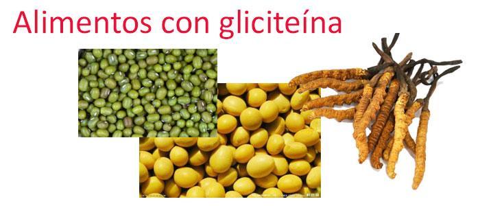 Alimentos con gliciteína