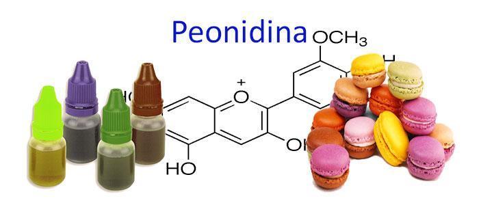 Peonidina (E163a), propiedades, beneficios y Usos