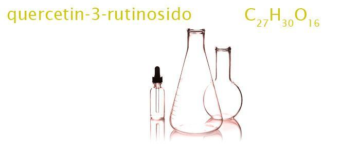 Qué es quercetin-3-rutinosido, beneficios
